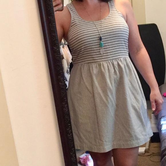 b01f056a550c Lou   Grey Dresses   Skirts - Lou   Grey Linen racerback Dress ...